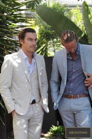 Uberstone linen suit